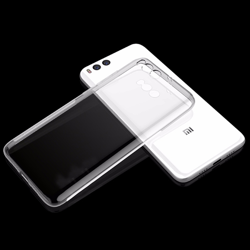 Husa + Folie ecran Xiaomi Mi6 Screen Geeks TPU Ultra Thin Transparenta