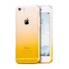 Carcasa iPhone 6 Plus / 6s Plus Hoco Black Series Gradient TPU Orange