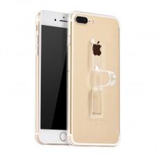 Husa iPhone 7 Plus Hoco Finger Holder TPU Transparent