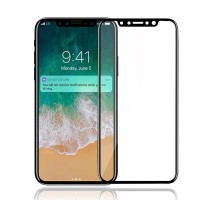 Sticla protectoare iPhone X Screen Geeks Full Cover Glass Pro Black