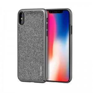Защитный чехол для iPhone X Hoco Gena Series Gray
