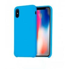 Husa Hoco Pure pentru iPhone X Blue