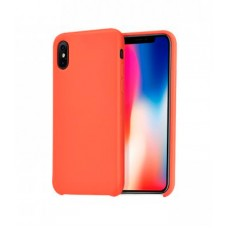 Husa Hoco Pure pentru iPhone X Apricot-Orange