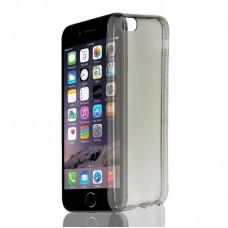 "Husa + Folie ecran iPhone 6 Plus / 6s Plus ""Screen Geeks TPU Ultra Thin"" Black Transparent"