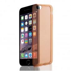 "Husa + Folie ecran iPhone 6 Plus / 6 Plus ""Screen Geeks TPU Ultra Thin"" Coral Transparent"