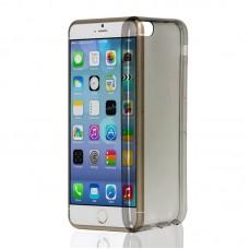 "Husa + Folie ecran iPhone 6 / 6s ""Screen Geeks TPU Ultra Thin"" Black Transparent"