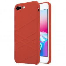 Husa  iPhone 7 Nillkin Flex Liquid Silicone Red