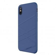 Husa  iPhone X Nillkin Flex Liquid Silicone Blue