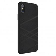 Husa  iPhone X Nillkin Flex Liquid Silicone Black