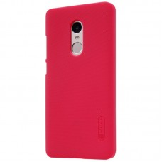 Чехол + Пленка для Xiaomi Redmi 5 Nillkin Super Frosted Shield Red